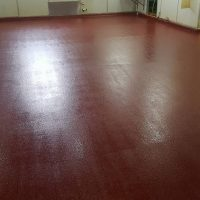 wine red flooring