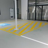 grey yellow flooring